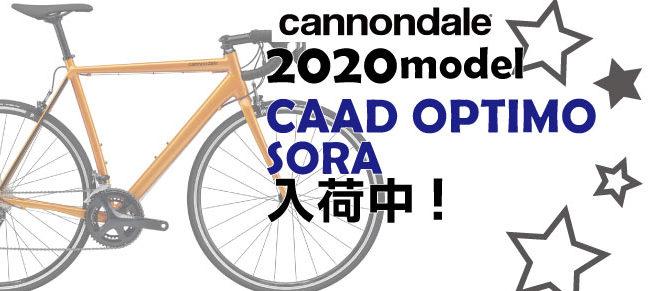 キャノンデール2020年「CAAD OPTIMO SORA」入荷!