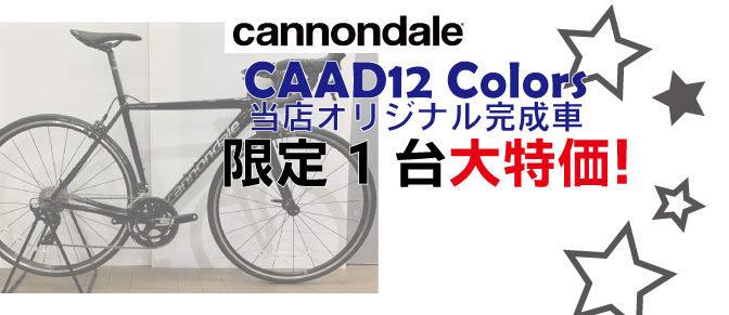 キャノンデールCAAD12オリジナル完成車ございます!