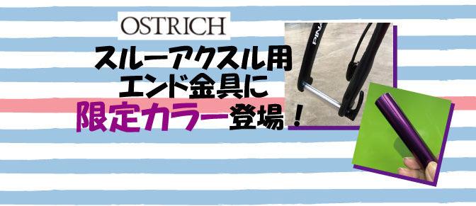オーストリッチ エンド金具に限定カラー登場!